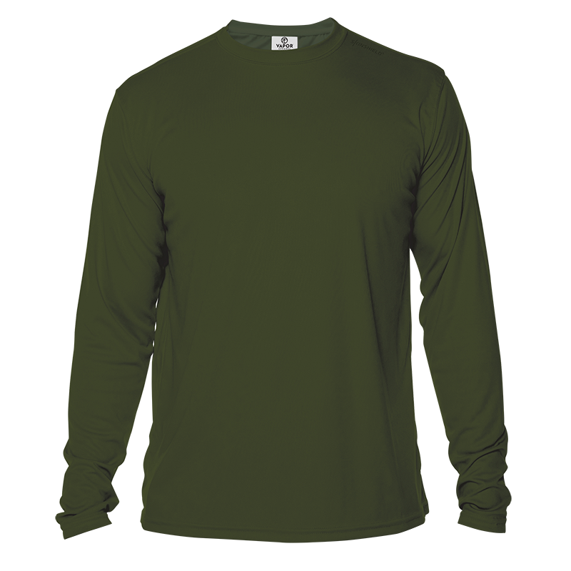 Long Sleeve Men - OD Green