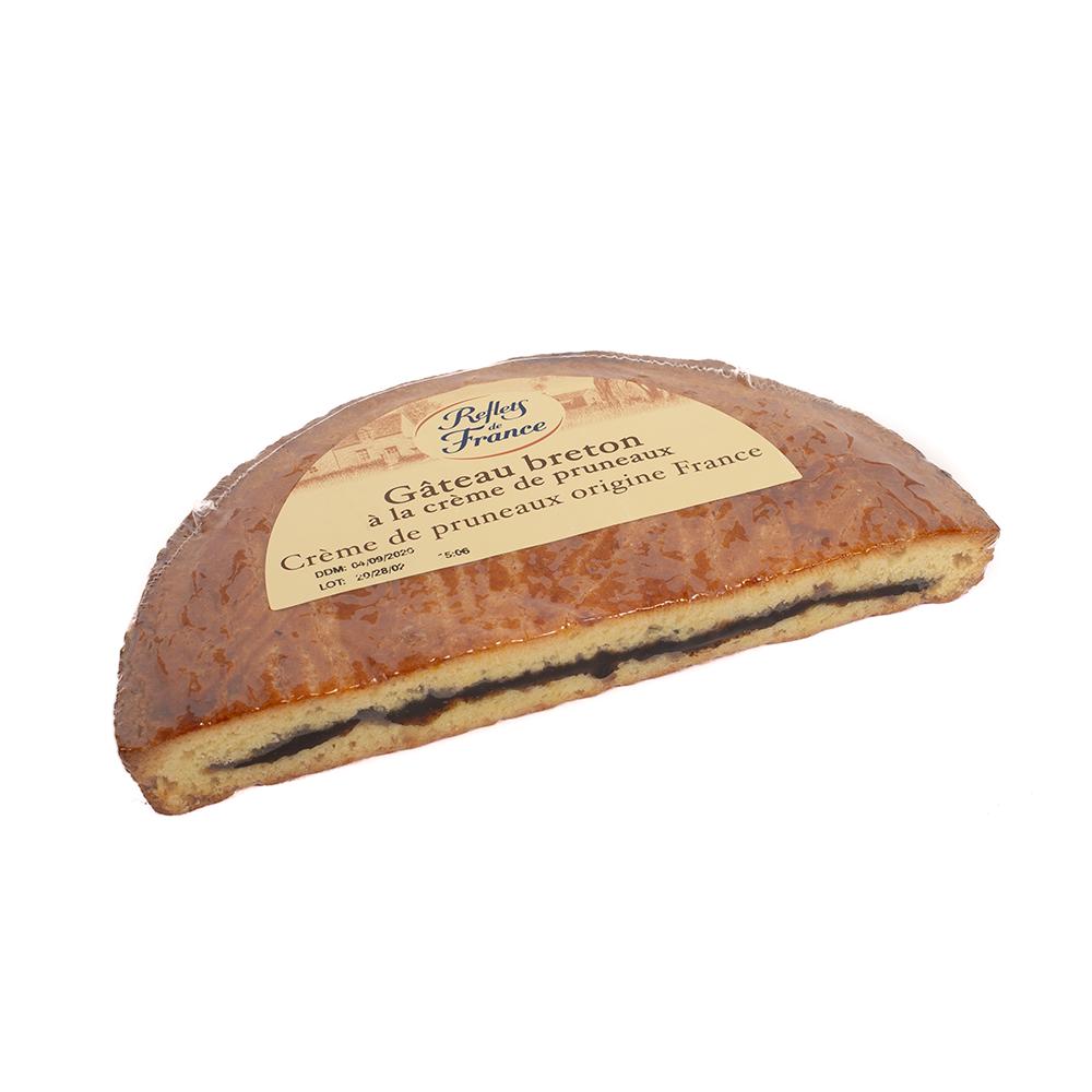 Gateau breton à la crème de pruneaux