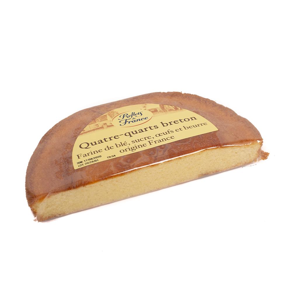 Quatre-quarts breton pur beurre