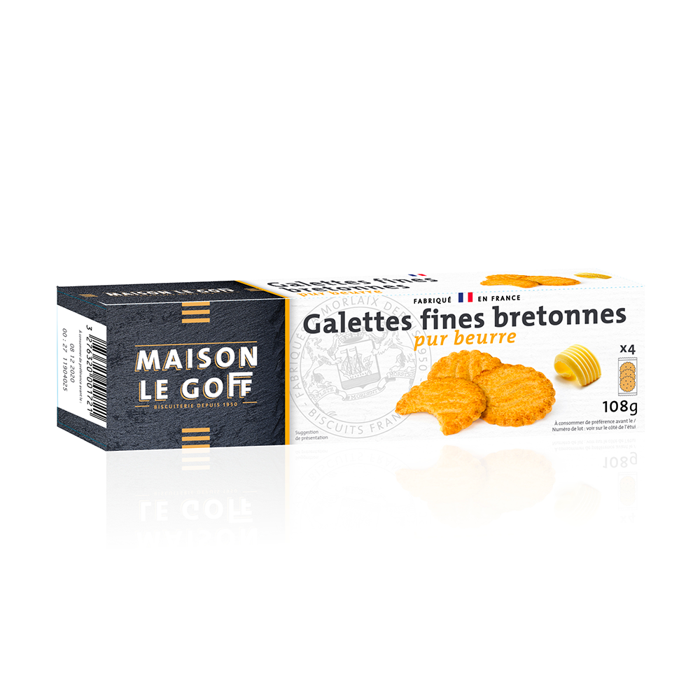 Galettes fines pur beurre