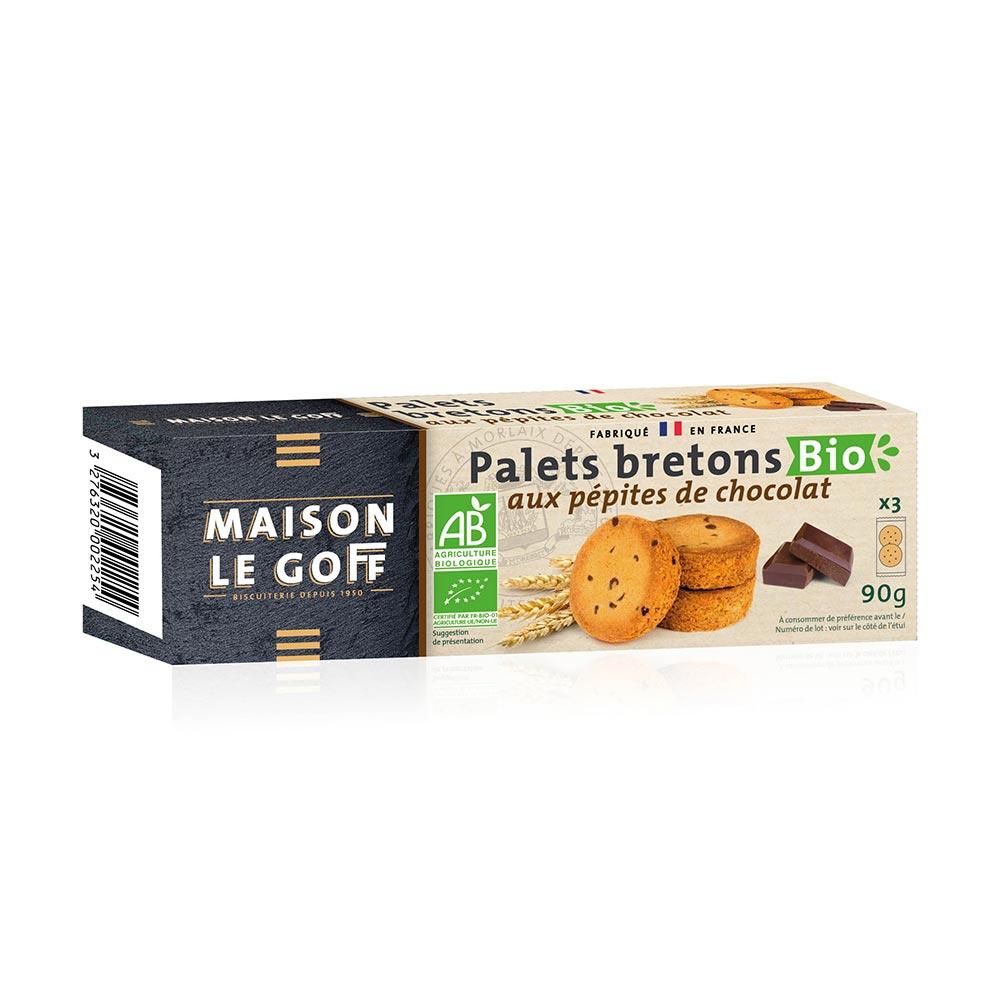 Palets chocolat BIO