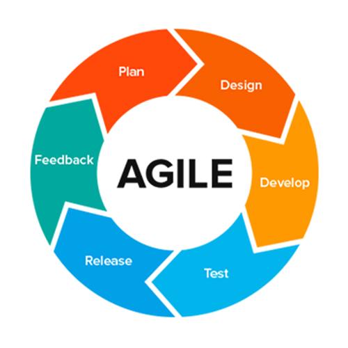 Agile development infographic