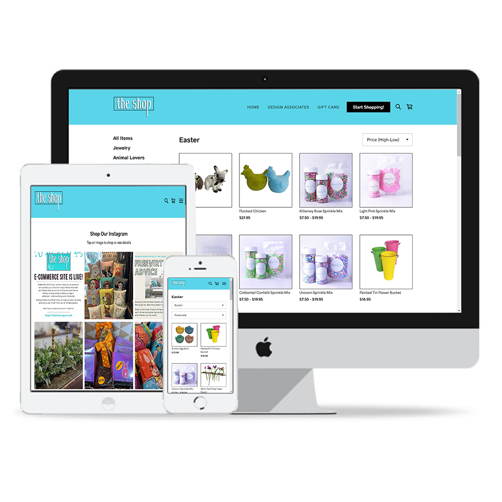 ecomm ecommerce the shop small business shop the shop
