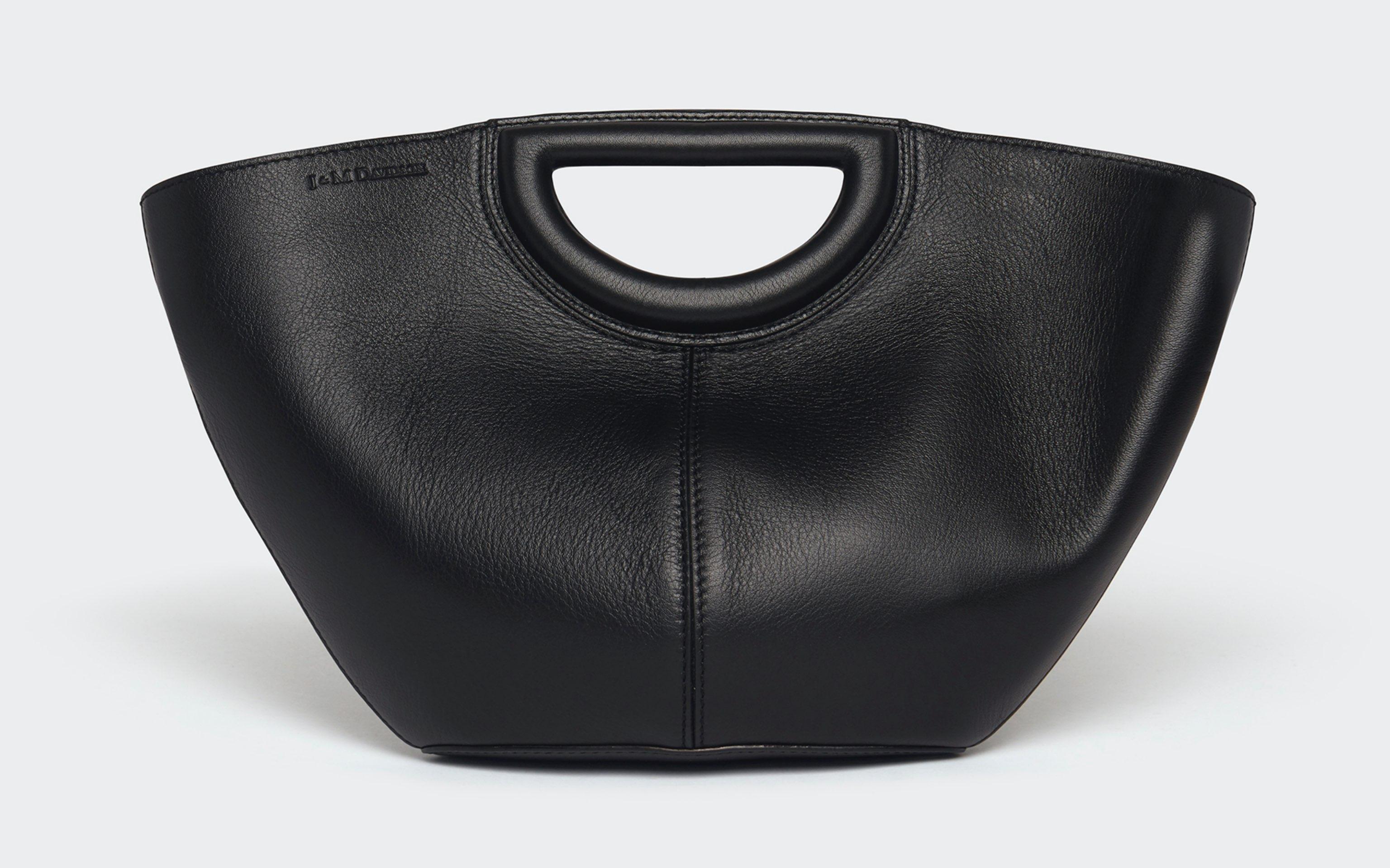 J&M Leather bag in black