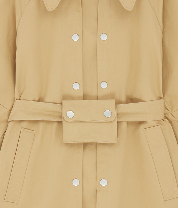 Beige close up dress picture for fashion eCommerce