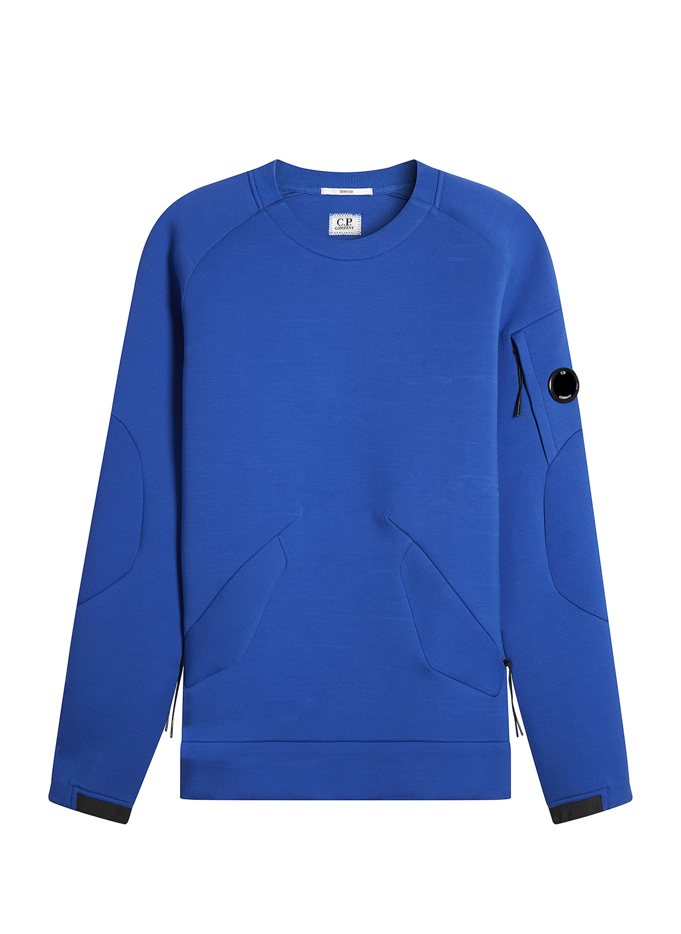 Blue C.P. Company Jumper on white background