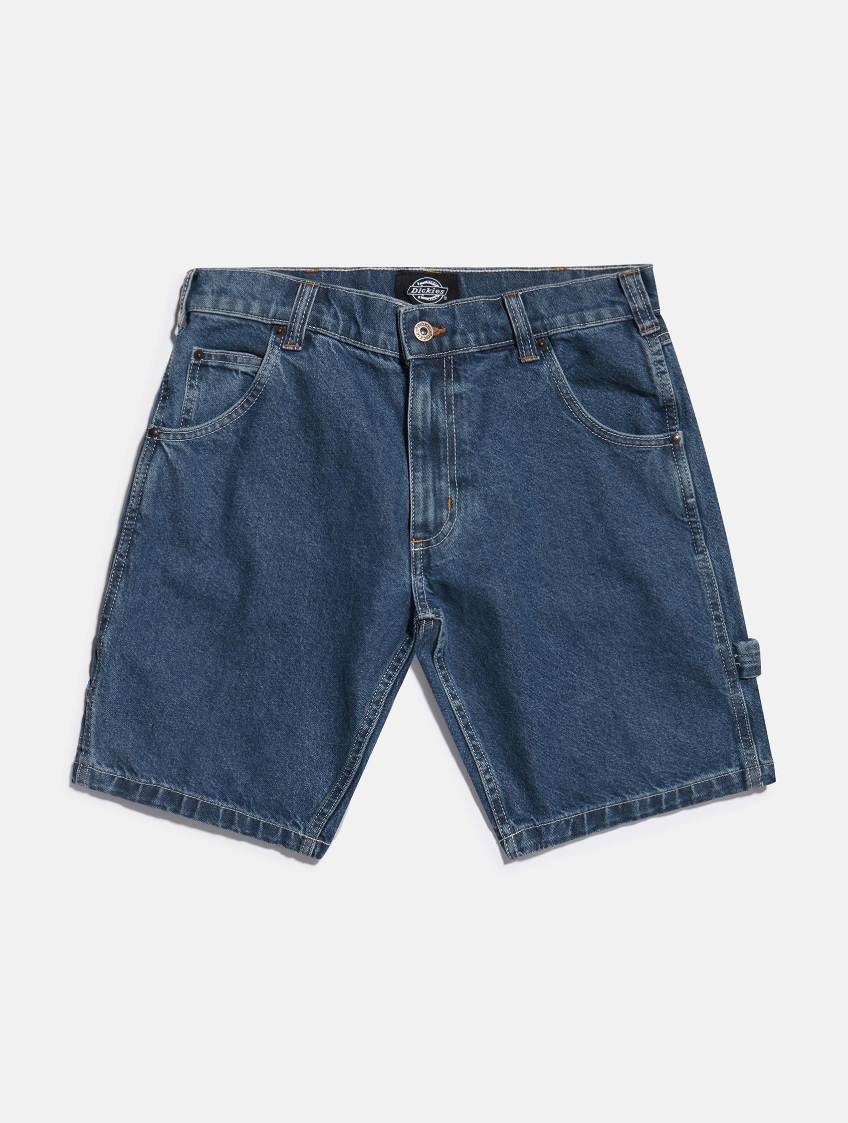 Dickies short blue denim shorts