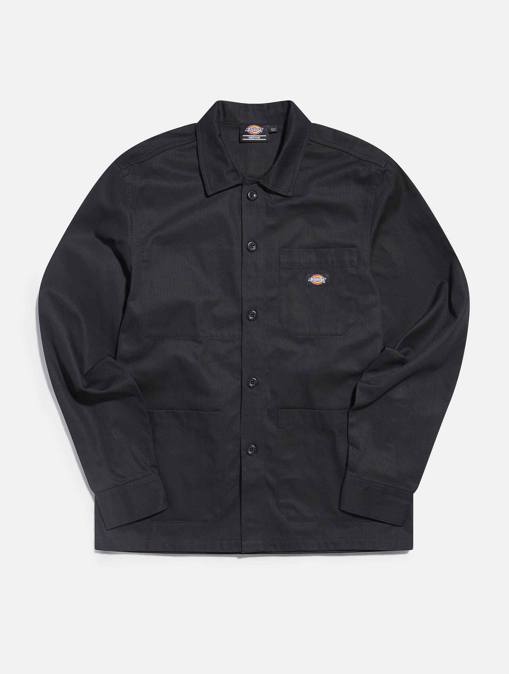 Dickies black denim long sleeve shirt