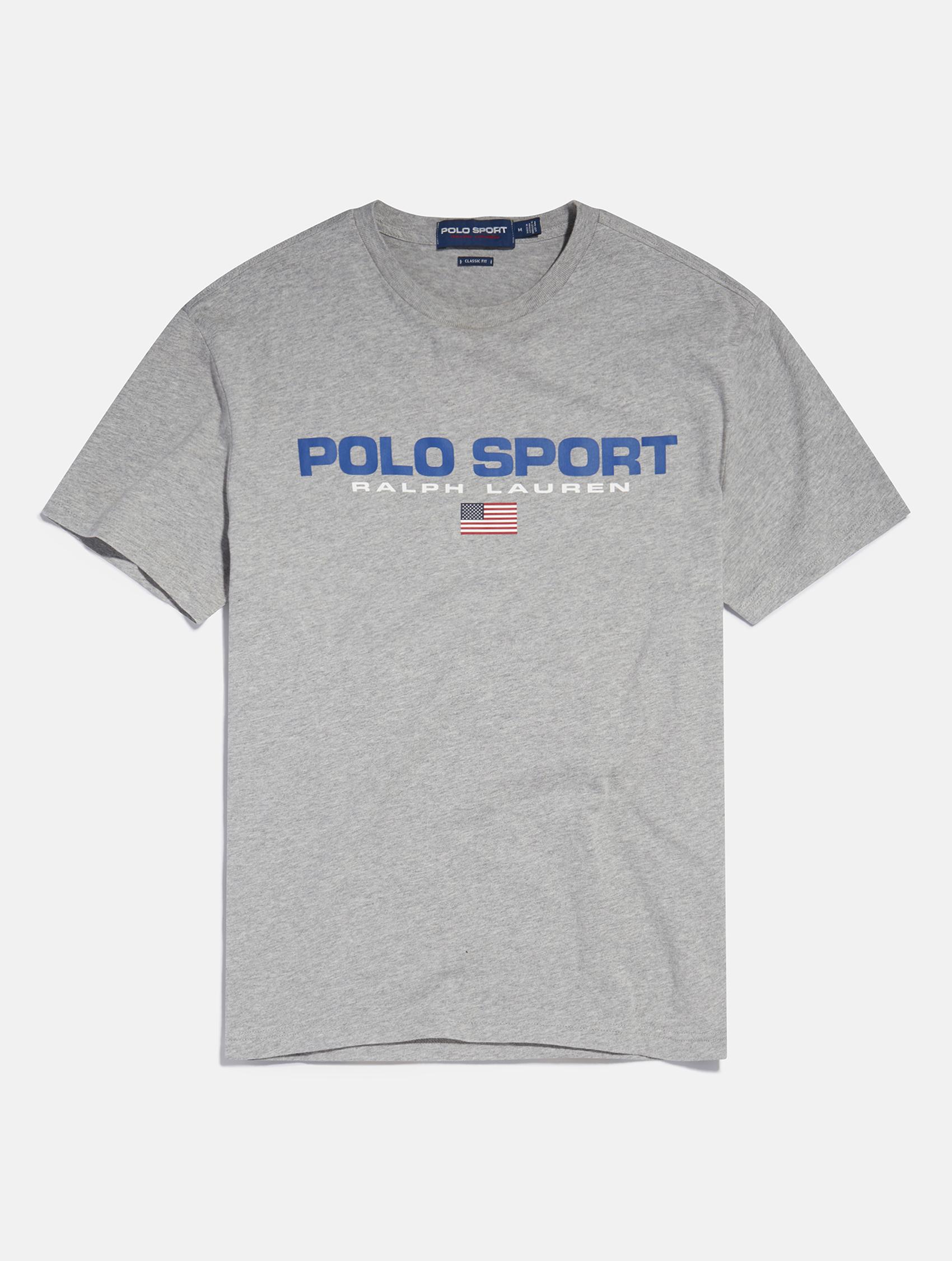 Polo Sport Ralph Lauren Shirt in light grey   eCommerce Photography London