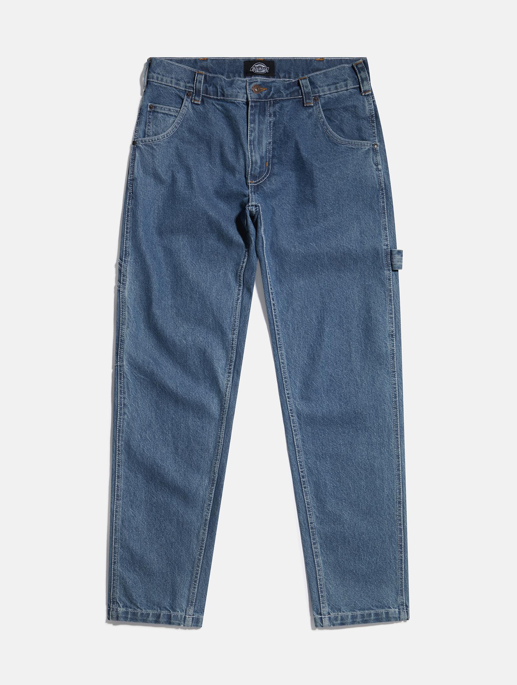 Dickies blue denim jeans   eCommerce Photography London   LRP
