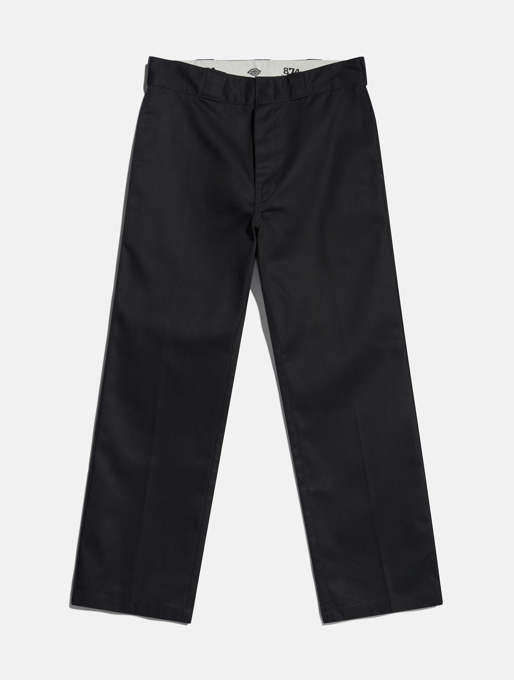 black straight long trousers by Dickies