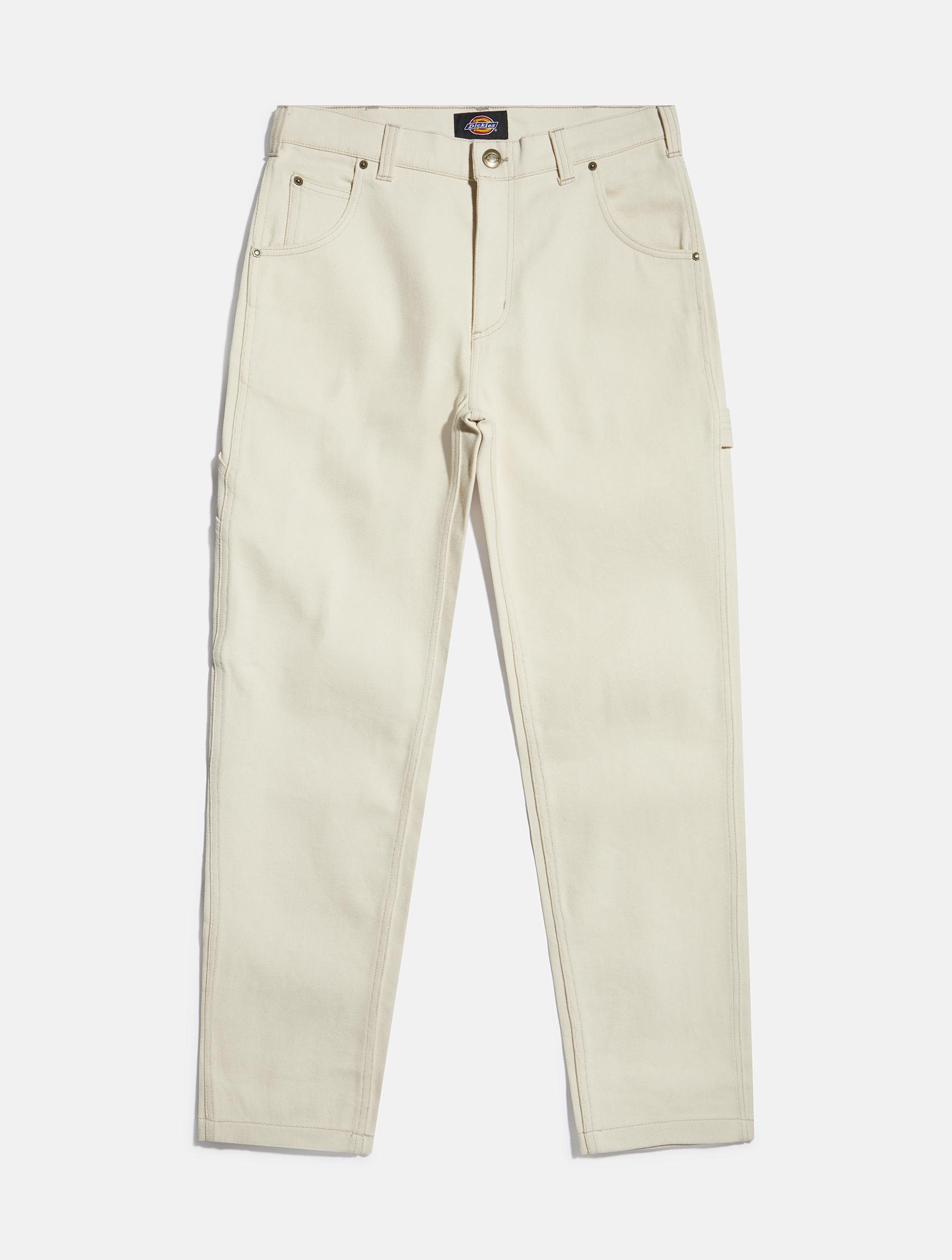White denim jeans by Dickies