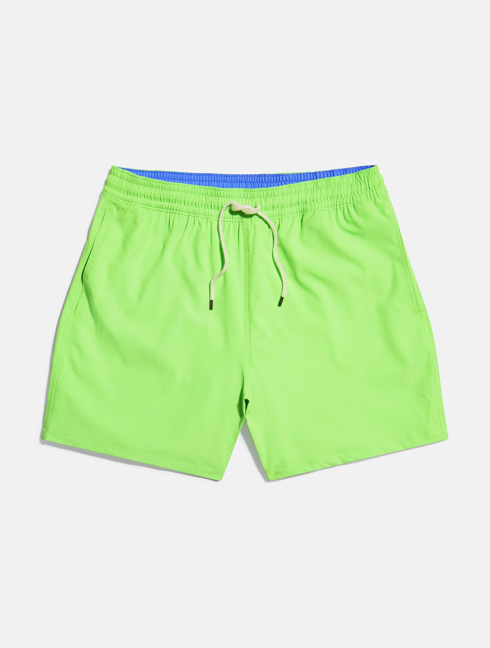 Light green with blue detailing Ralph Lauren swimming shorts