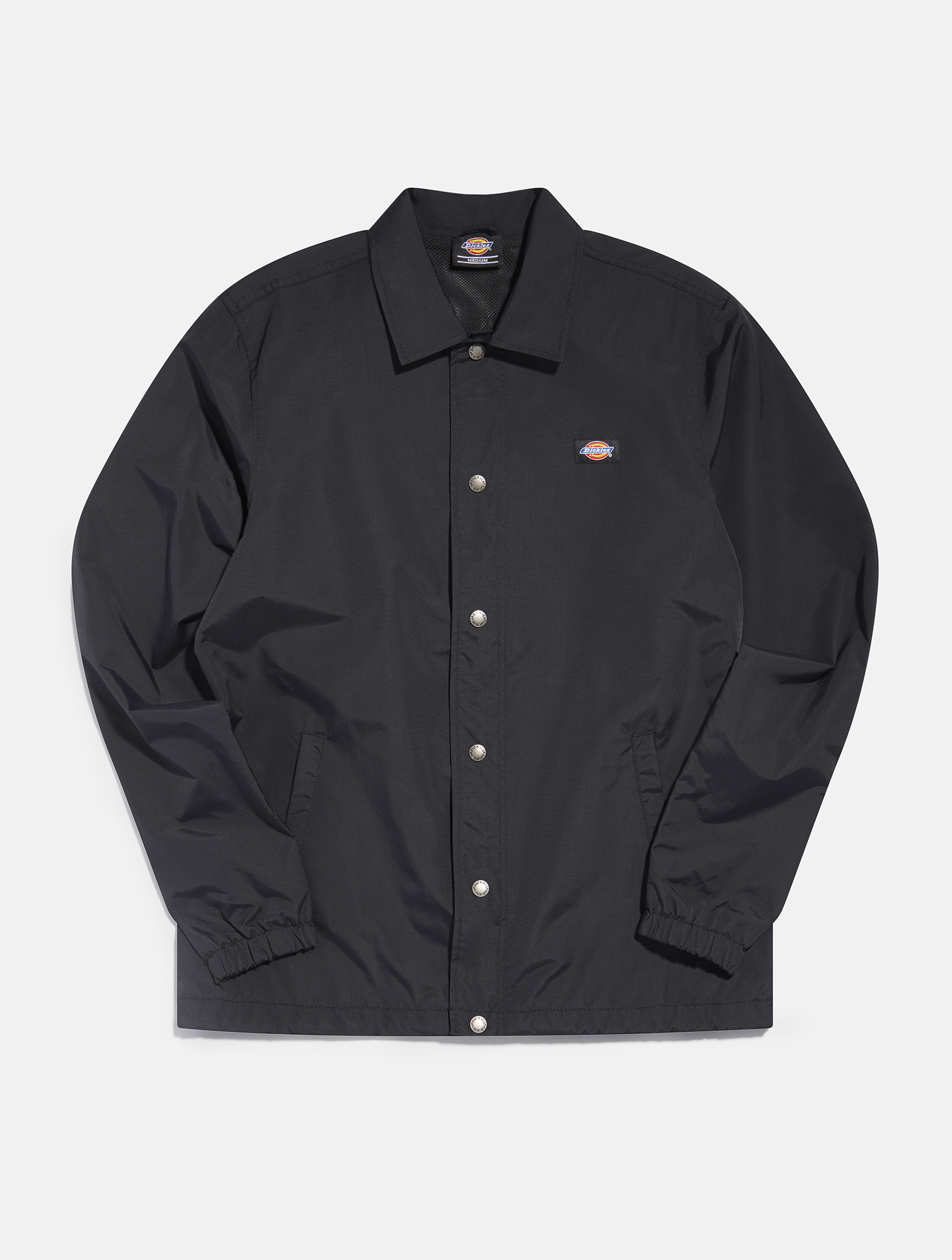 Black long sleeve shirt by Dickies   eCommerce Photography London