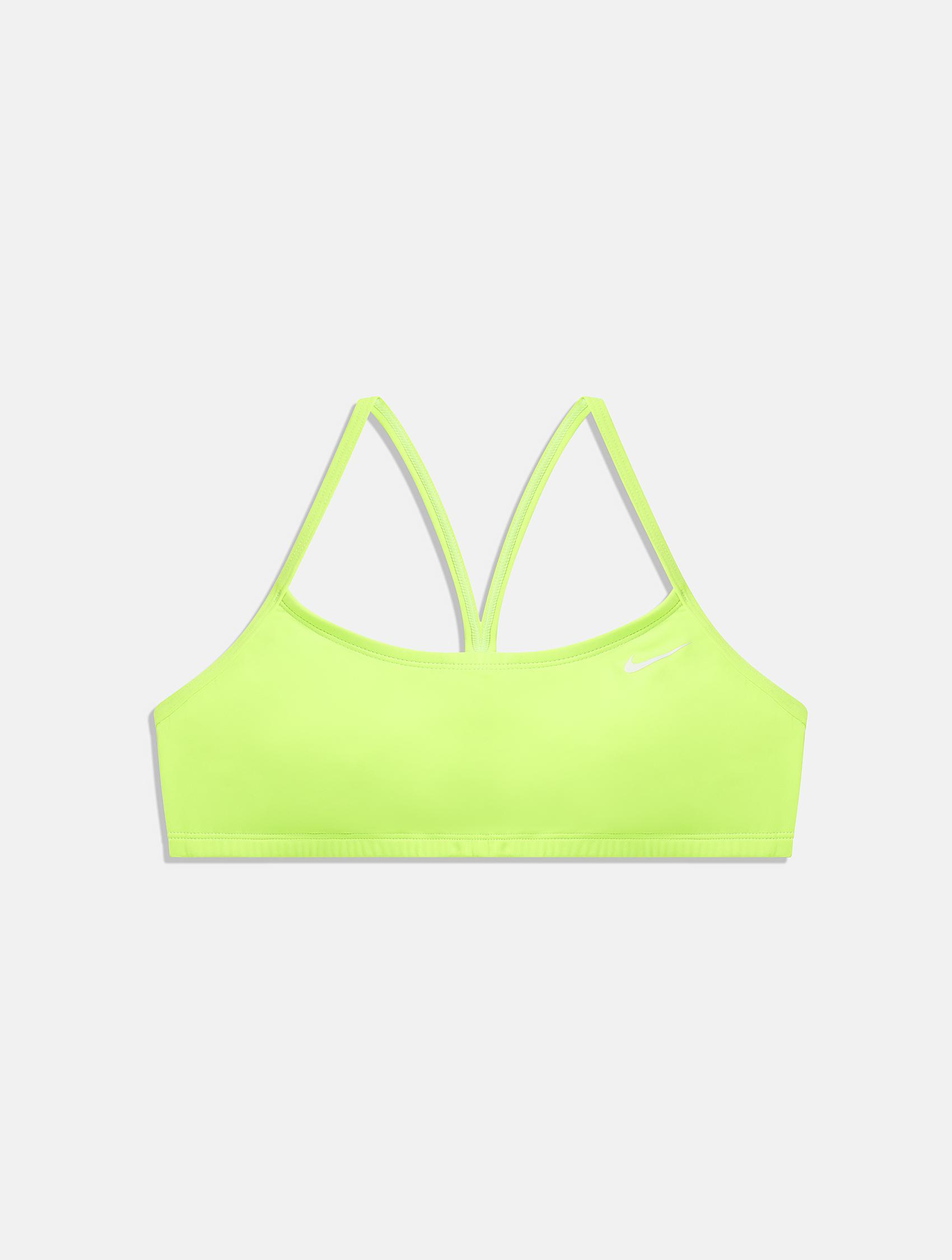 Light green Nike swimming top bra