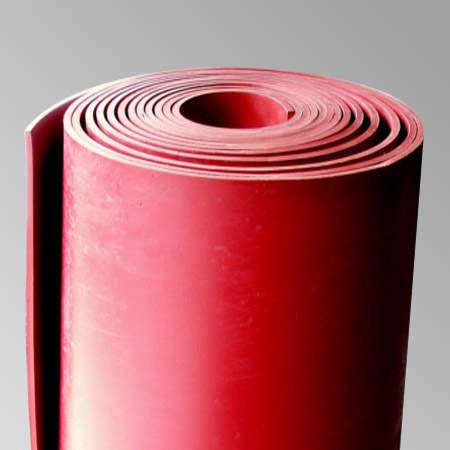 Hule SBR Rojo