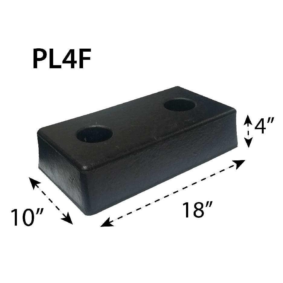 Tope para Andén PL4F