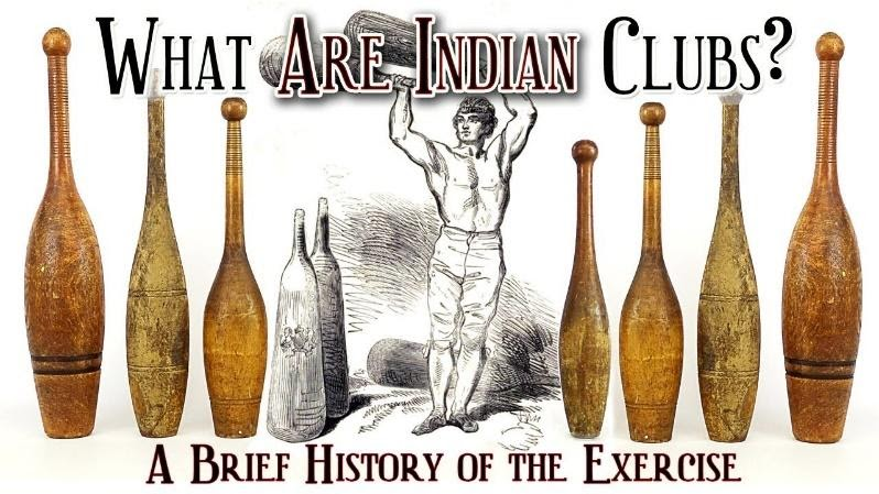 What are Indian Clubs? A Brief History of the Exercise - YouTube