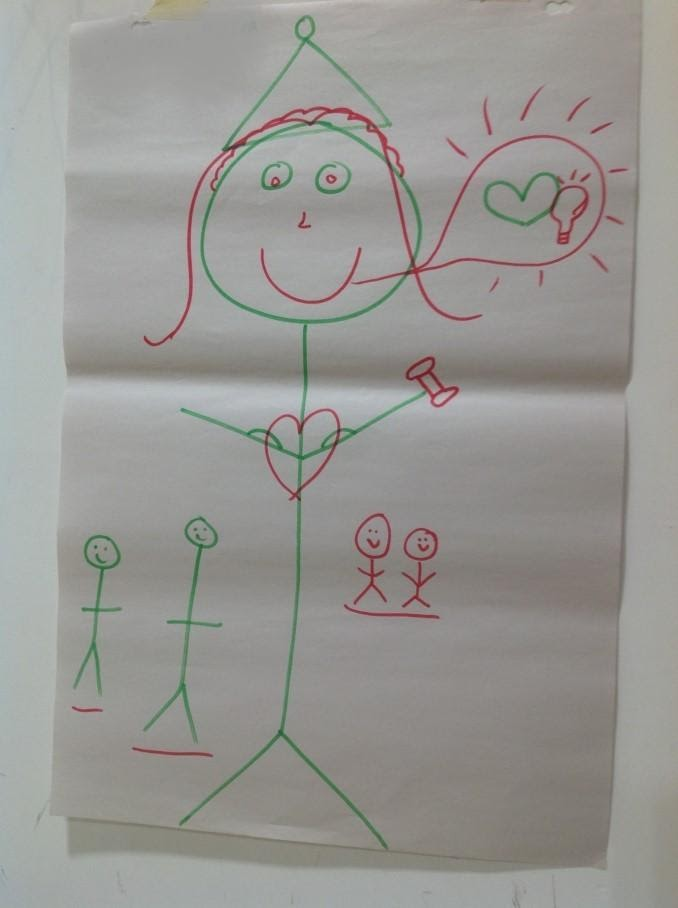 A drawing of a childDescription automatically generated with low confidence