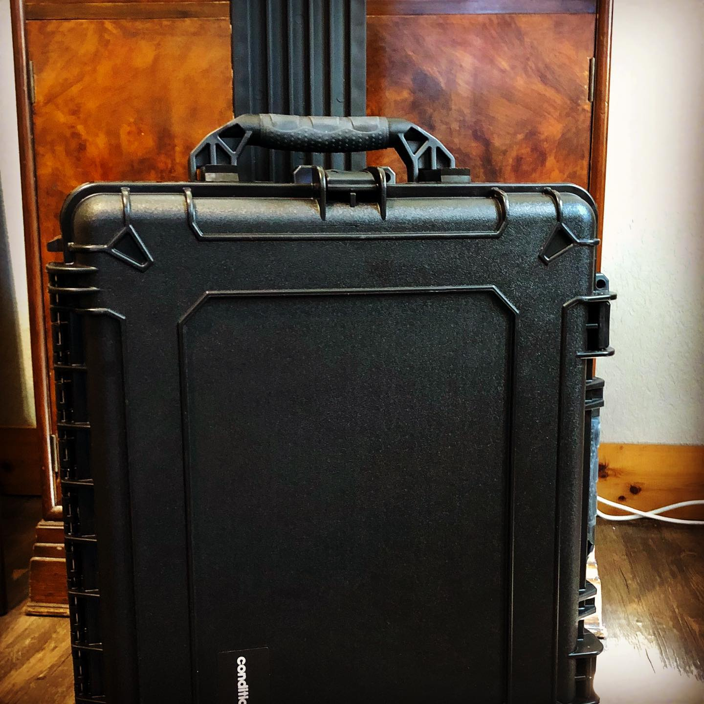 New heavy duty travel case for  some of our evaluators' tools