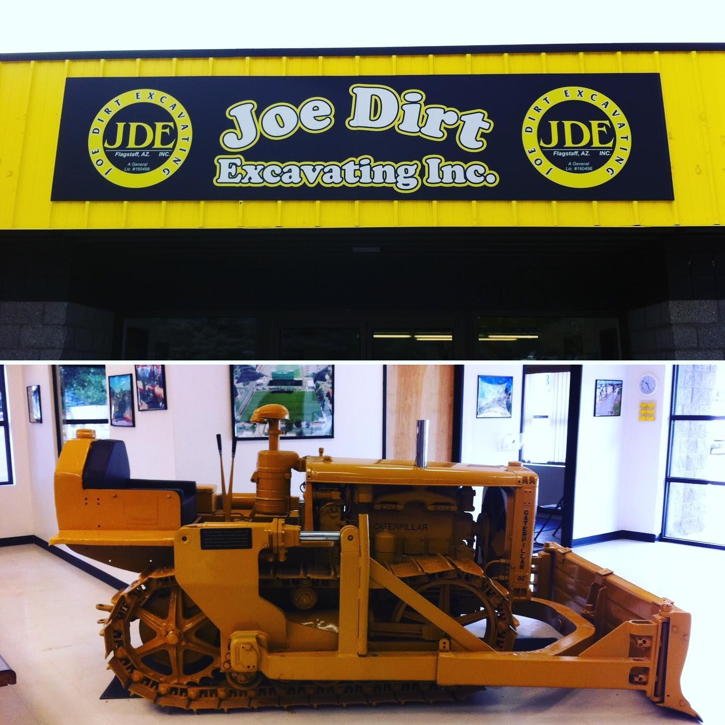 Always a pleasure working with the Joe Dirt Excavating in Flag