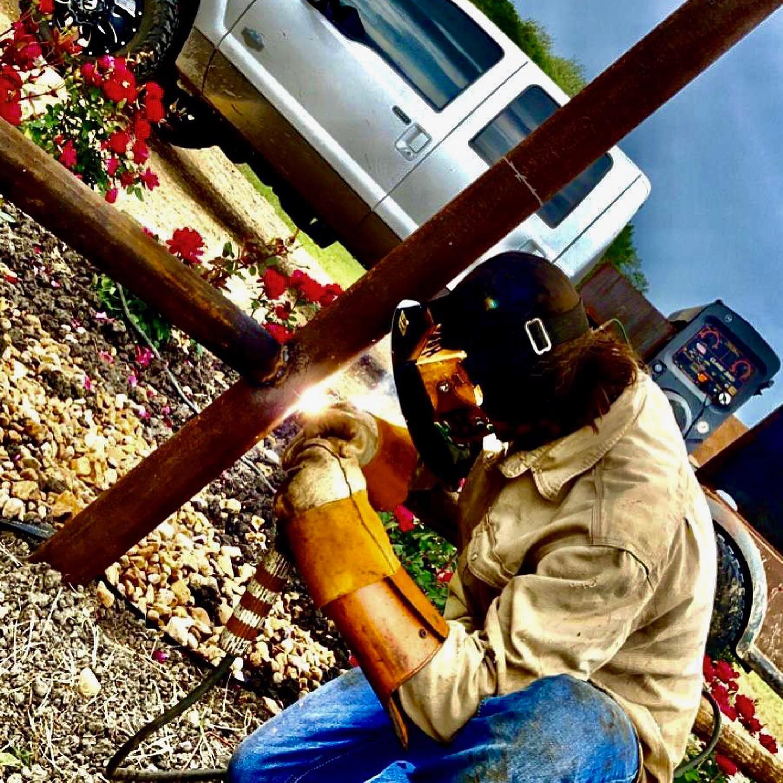 Yoakum, Texas Rig Welder #welder #pipelinewelders #weldingoq #