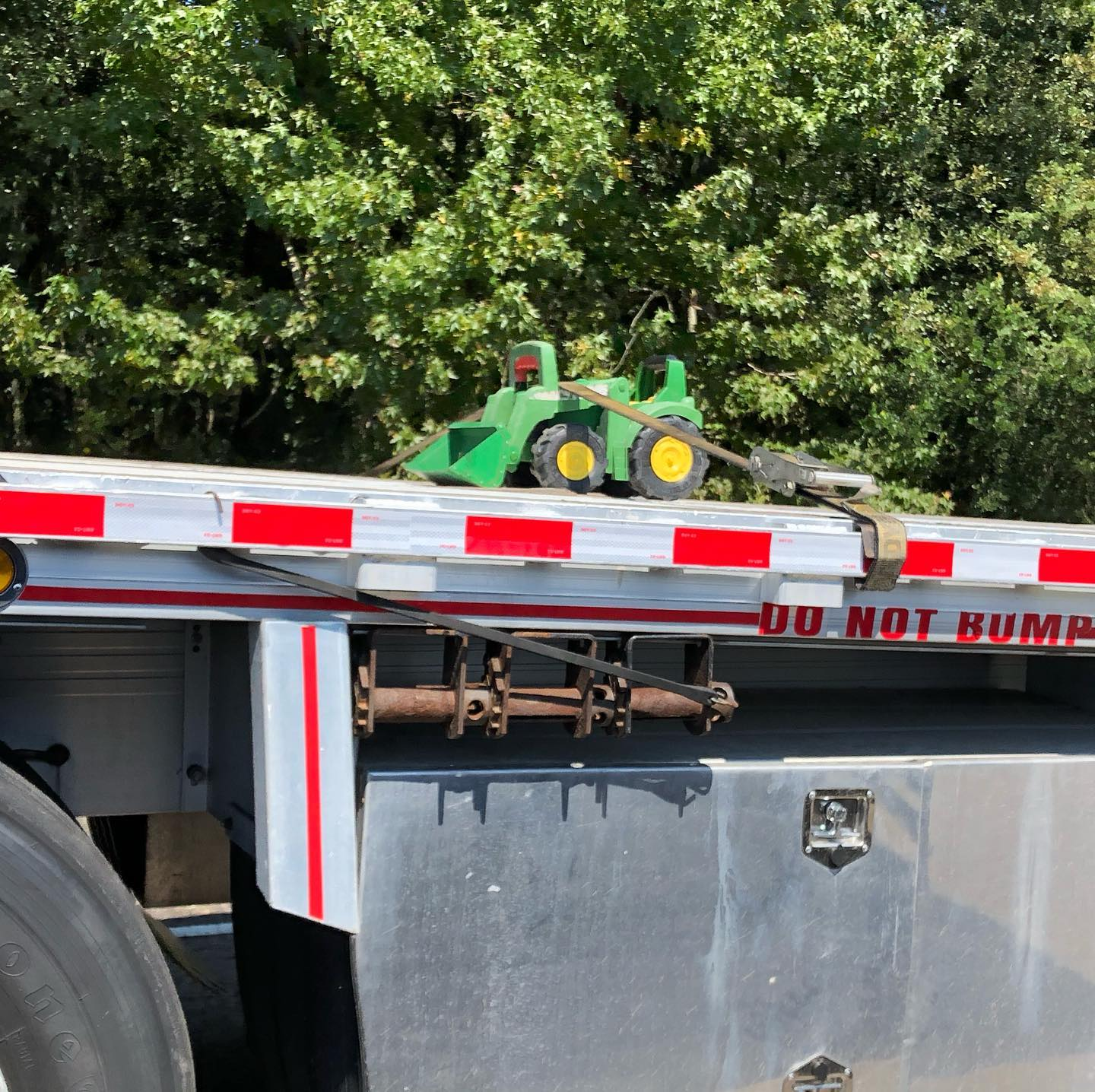 Safety is just as important for small jobs. Latest toy hauler