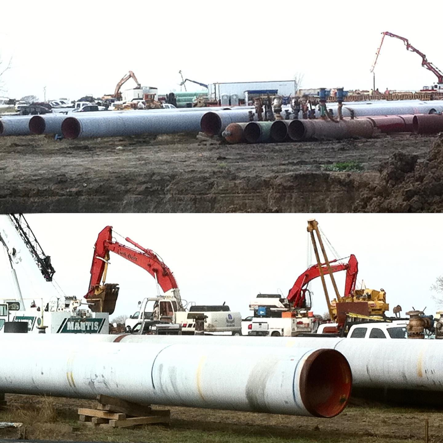 Pipelining in South Texas. #boomtrucks #heavyequipmentcertific