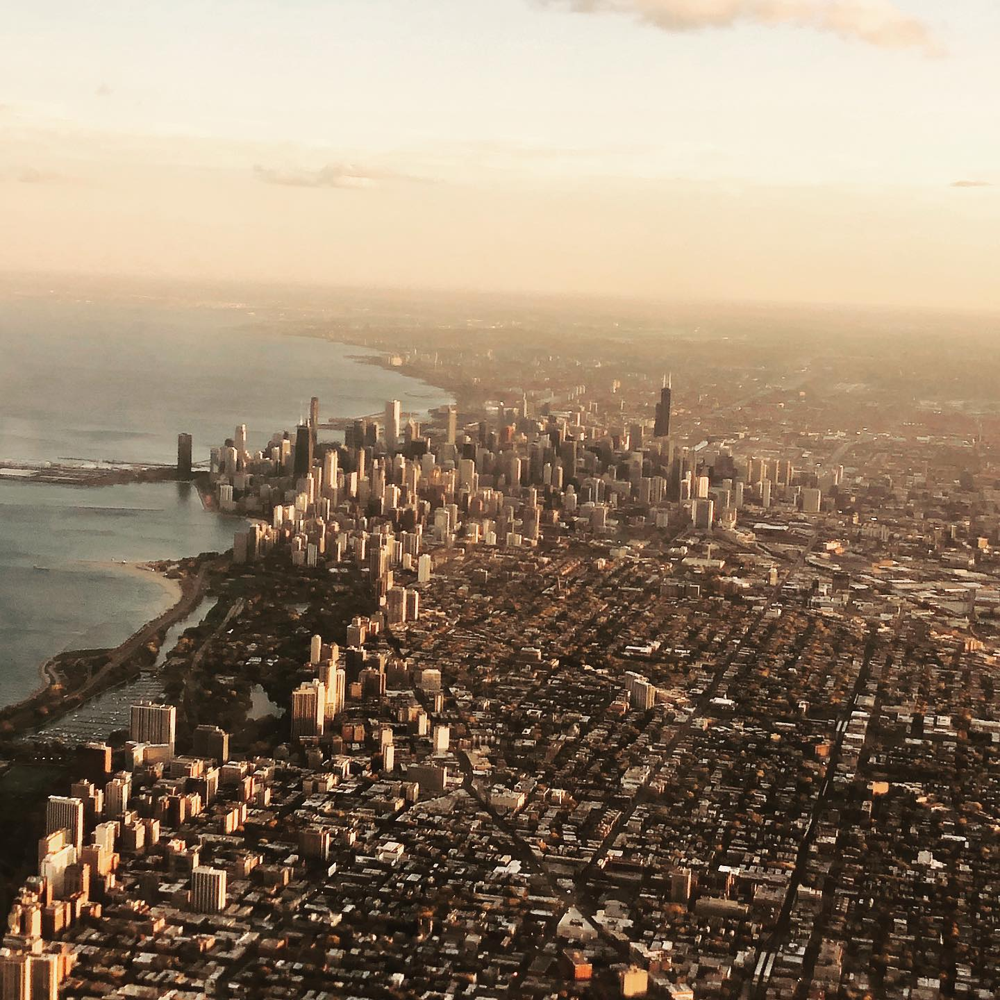 One of our evaluators took a great pic flying into Chicago ORD
