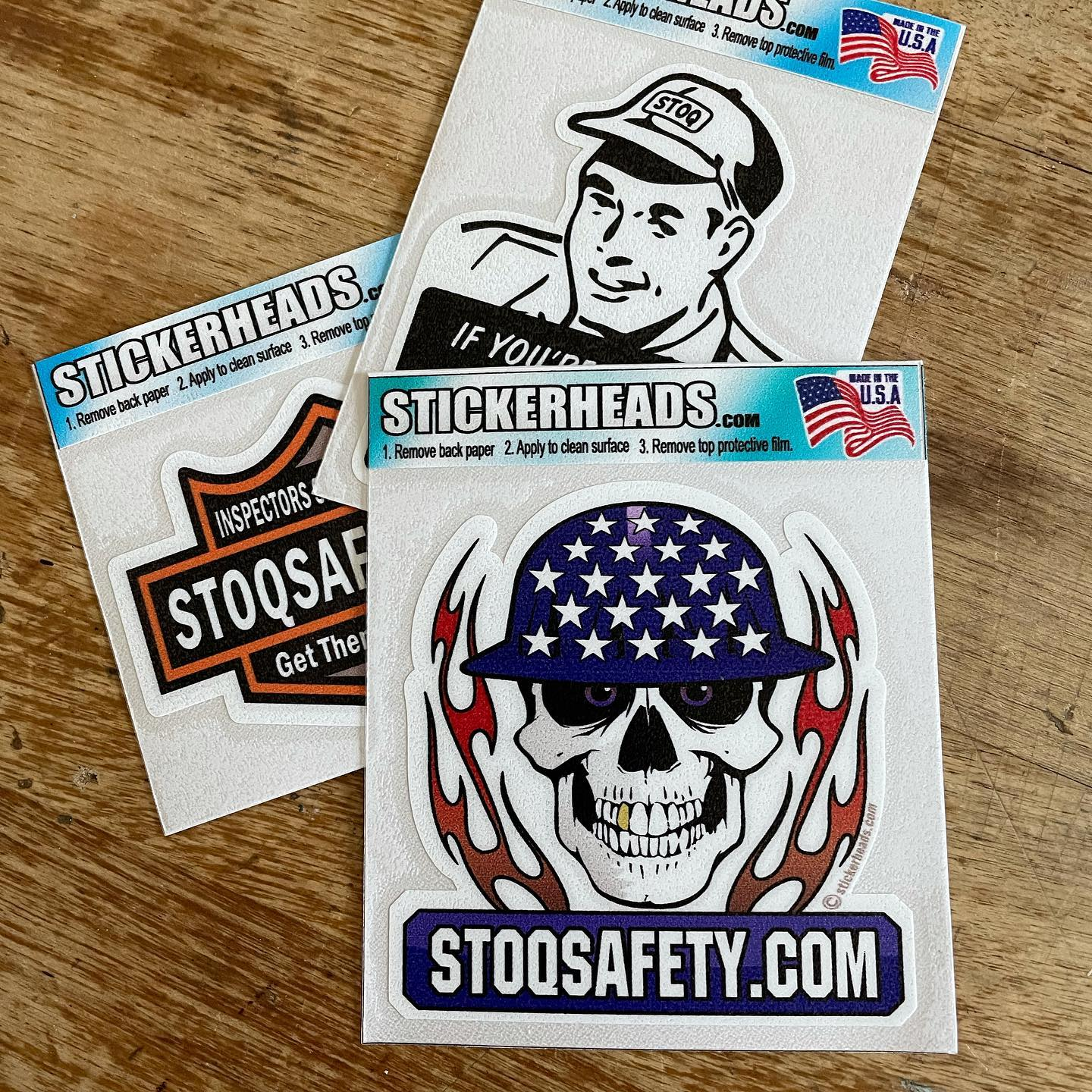 Shout out to @stickerheads.com_  for another batch of fun, hig