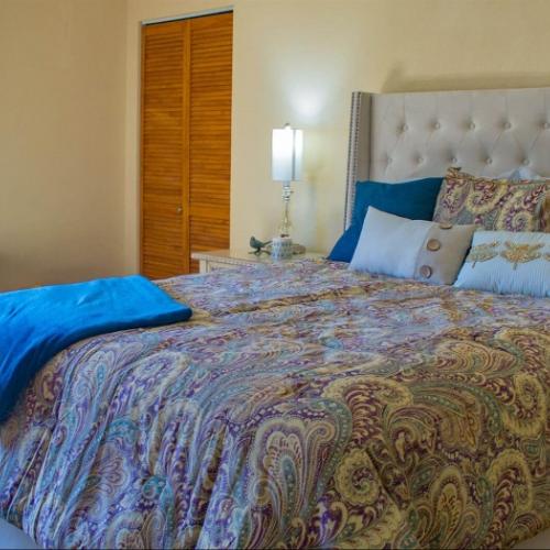 Independent Living Topeka bedroom