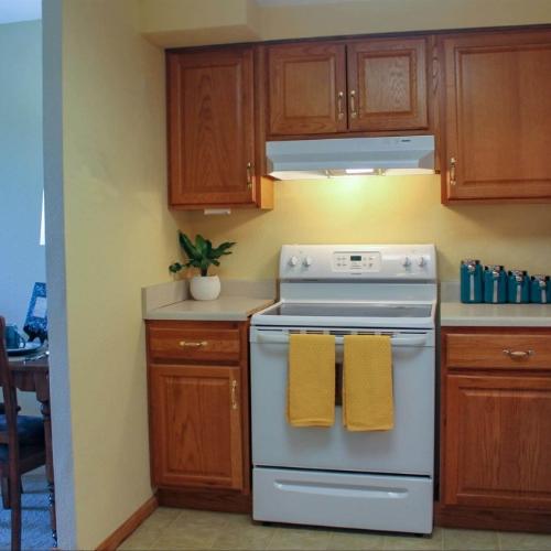 Independent Living Topeka kitchen