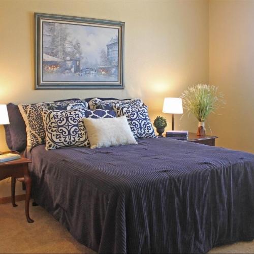 Independent Living bedroom Topeka