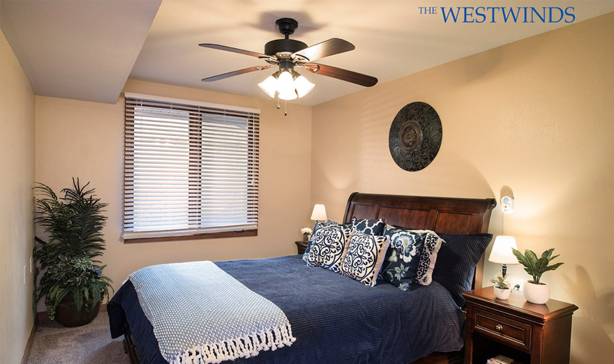 westwinds Independent Living one bed bedroom wichita