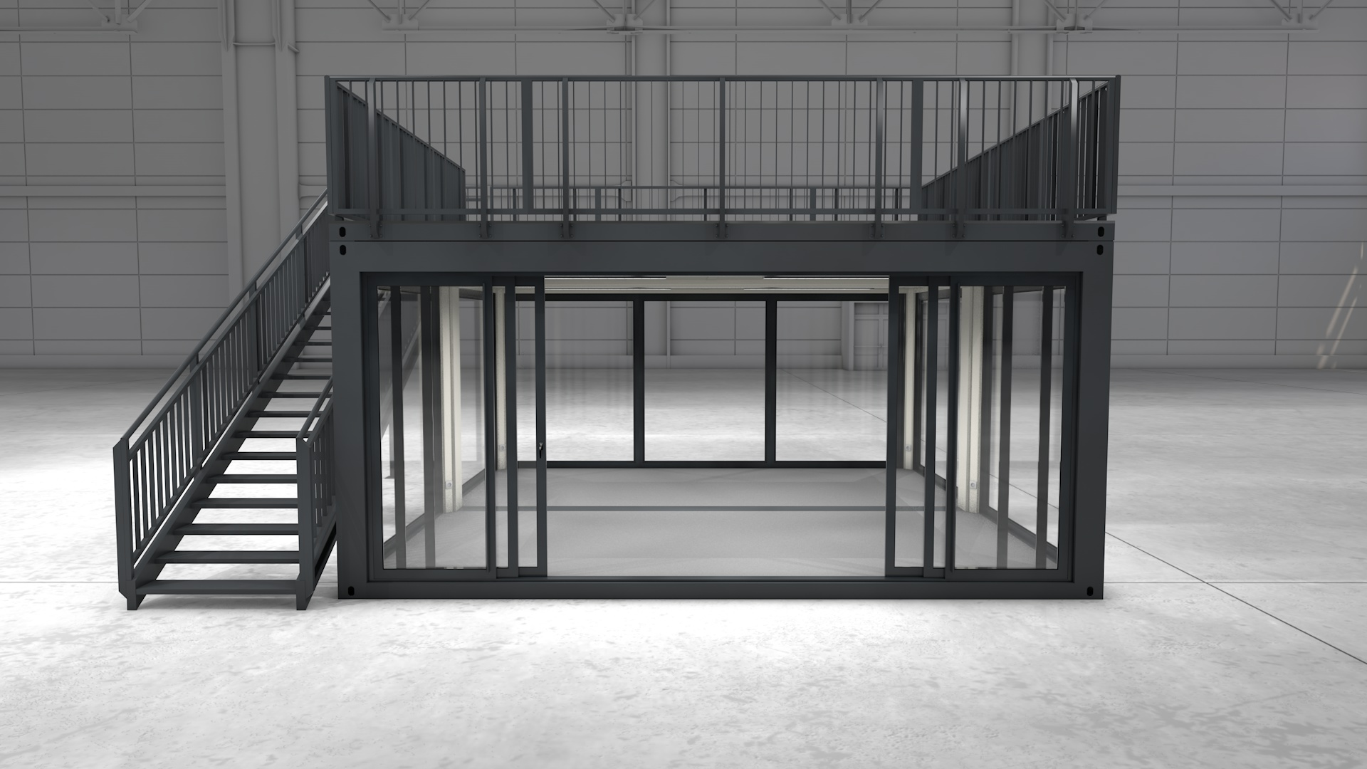 Premium Container M 21 - Ansicht 1