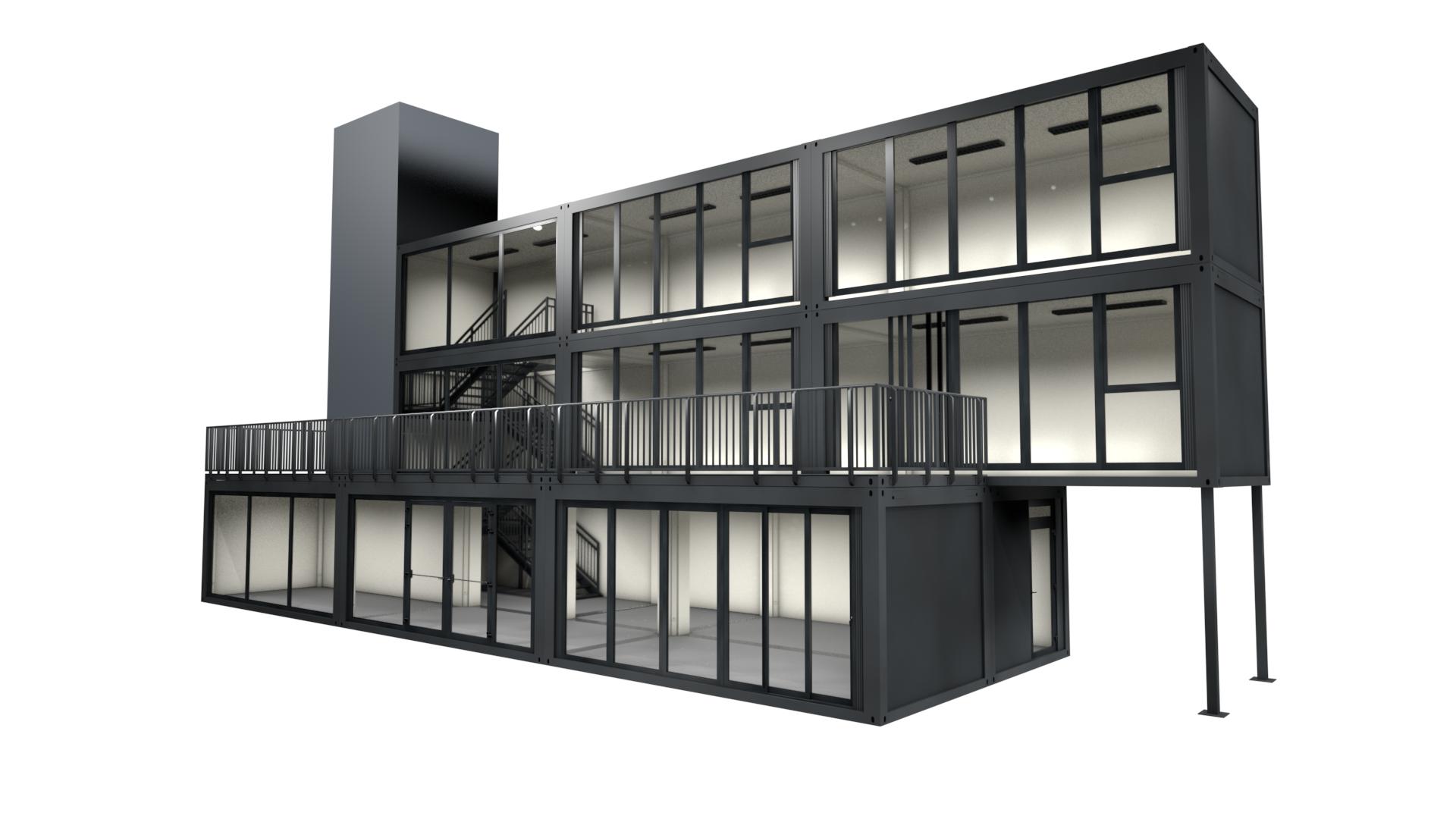Premium Container M 38 - Ansicht 1