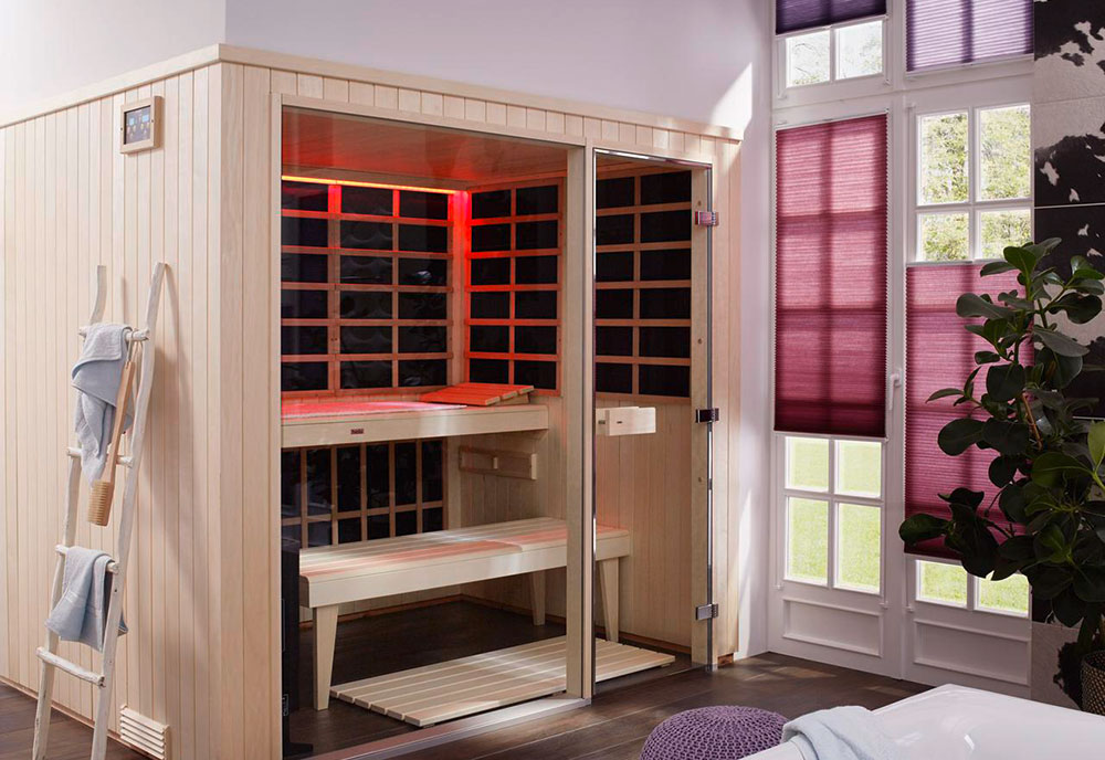B-Series infrared sauna room
