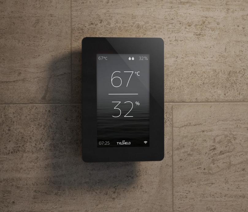 Wi-Fi sauna control panel