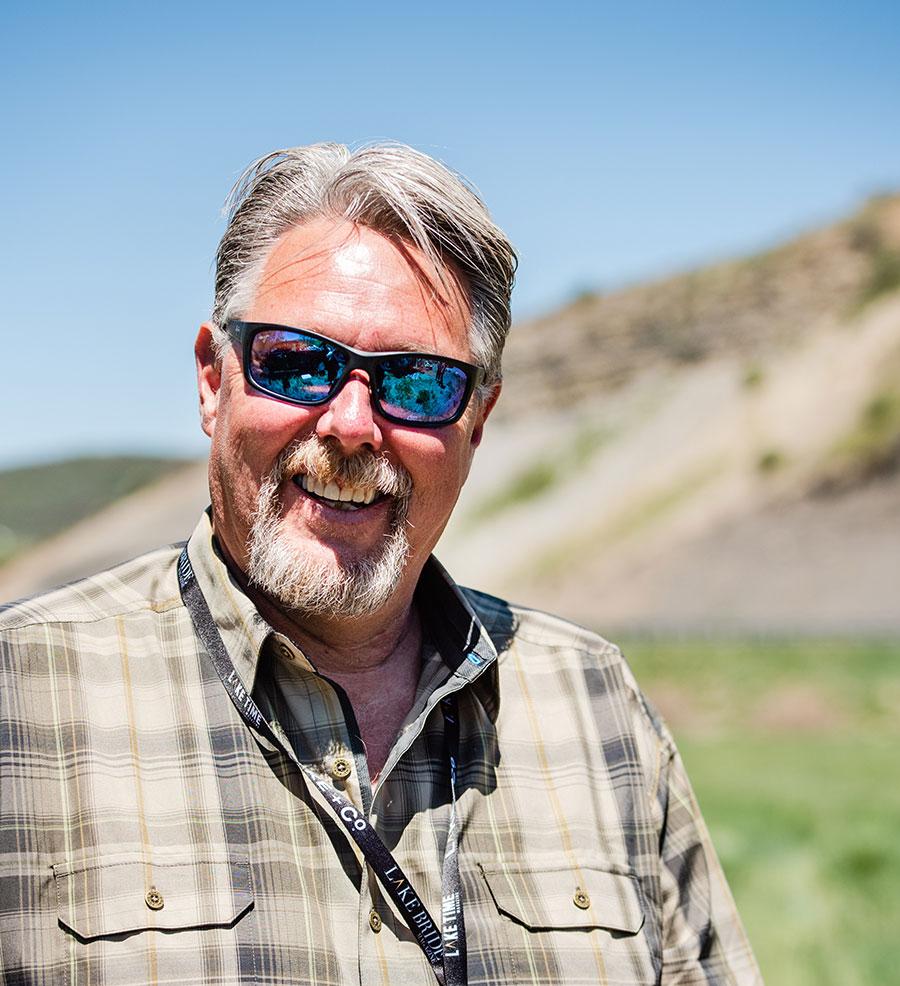 Owner of Voyageur Saunas Eric Bongard.