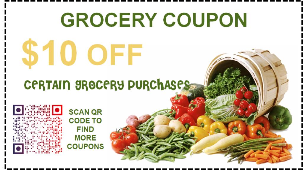 QR code coupon