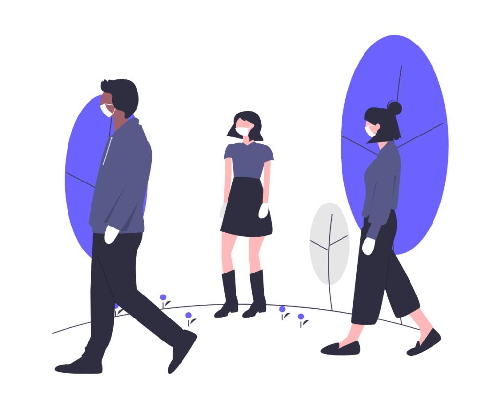 Social distancing quarantine