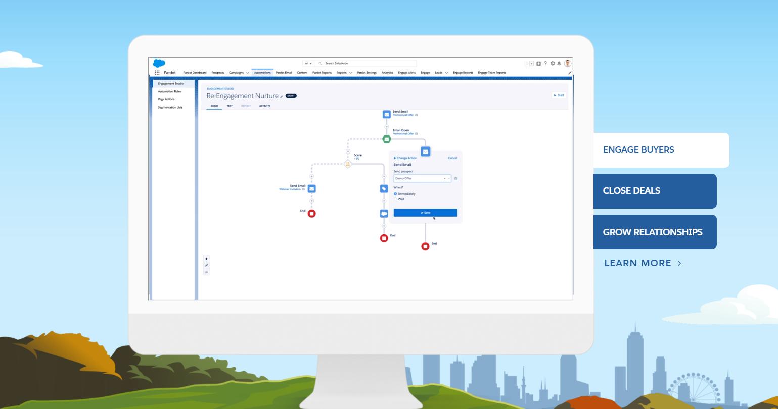 Salesforce Pardot Marketing automation