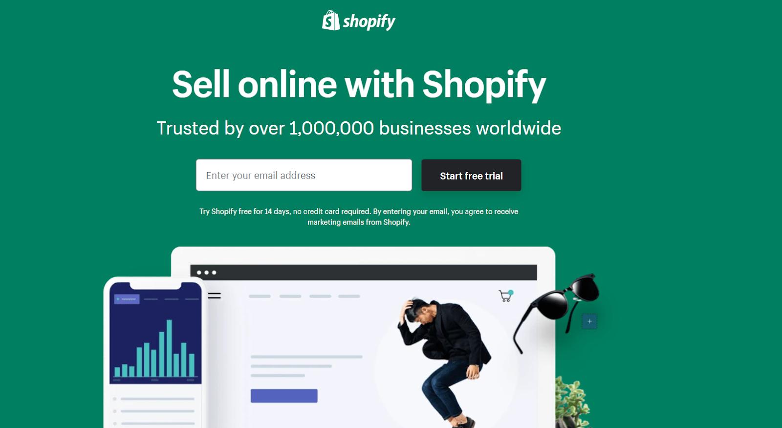 Shopify. Marketing automation