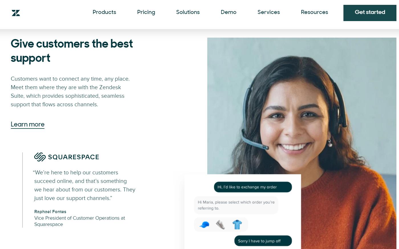 Zendesk. Marketing automation software