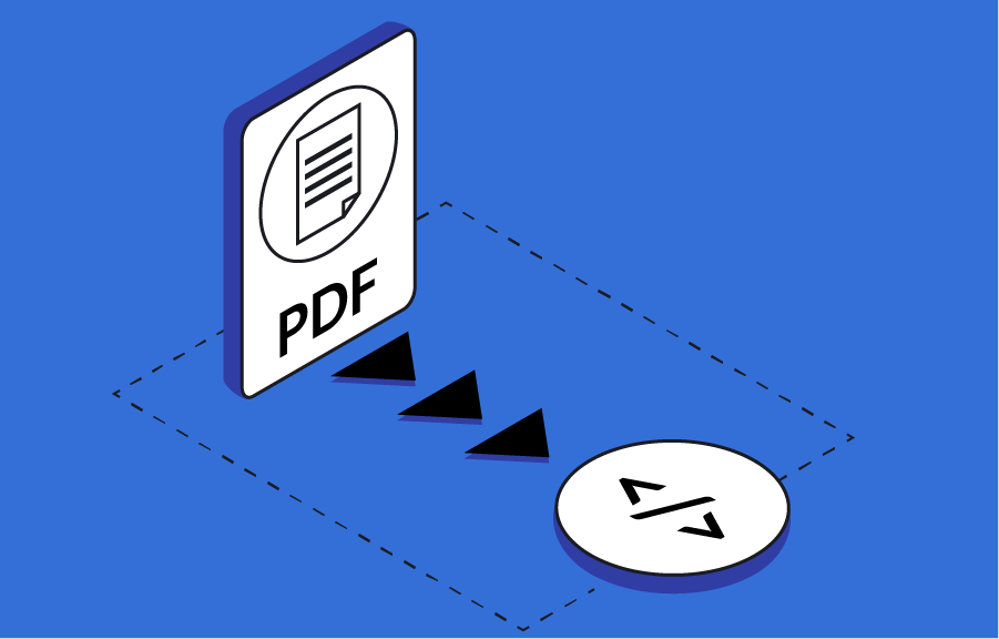 HTML and PDF