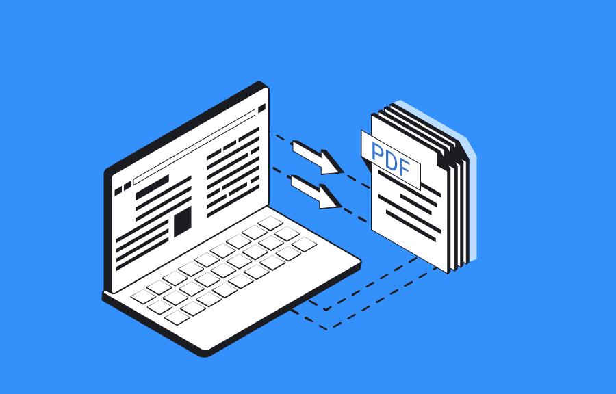 HTML to PF API