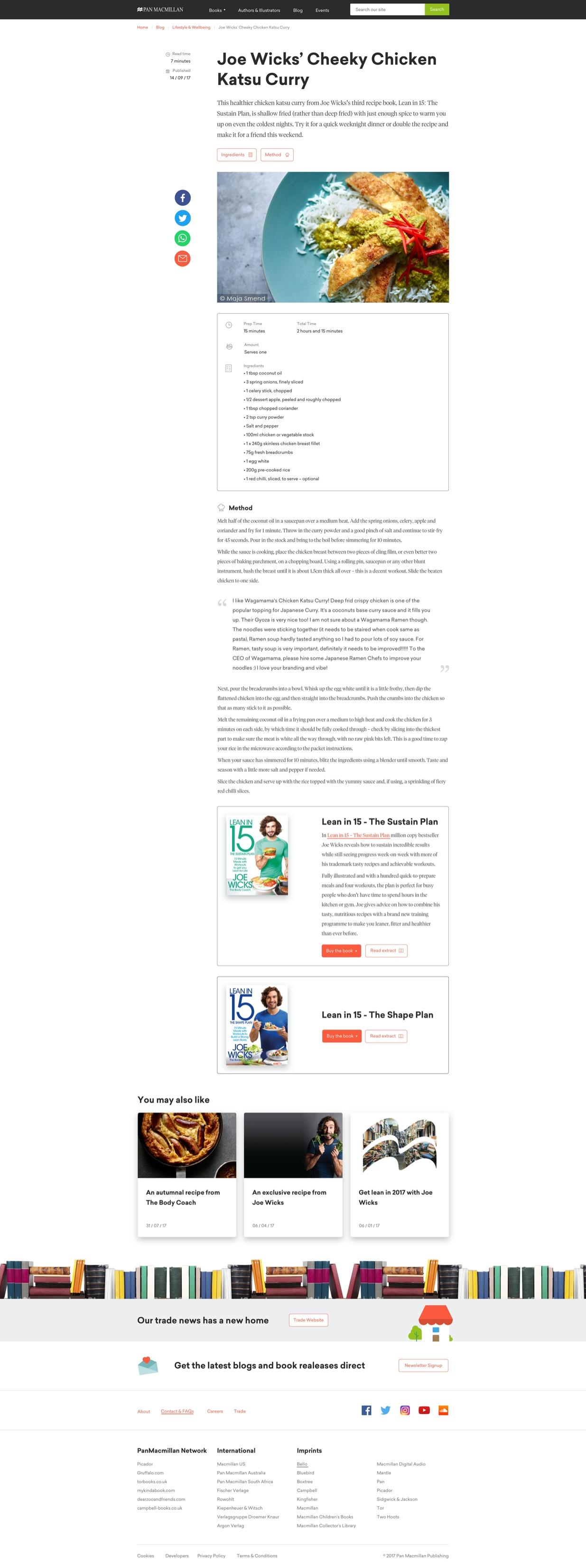 PanMac - Recipe Blog Post