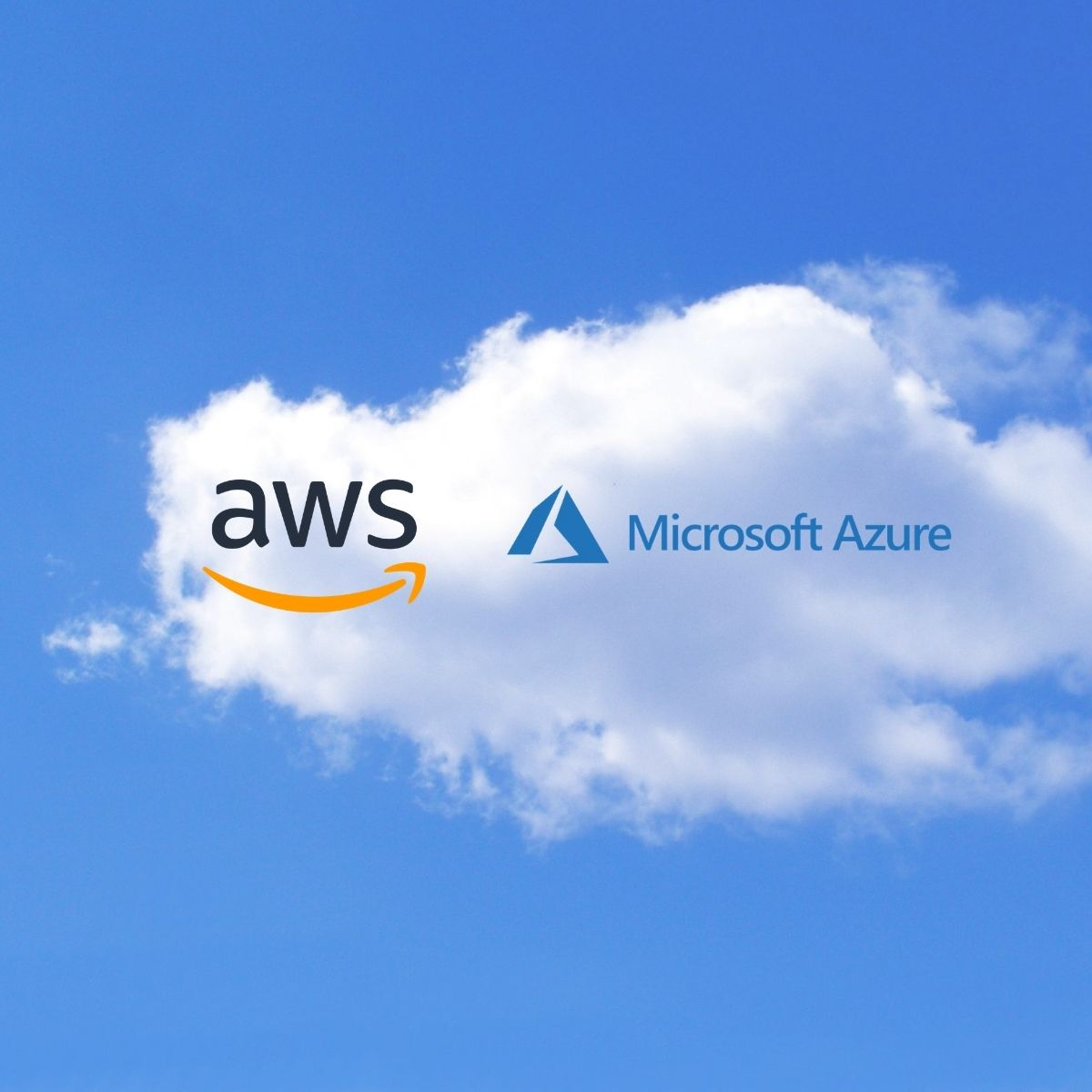 Image of AWS and Microsoft Azure
