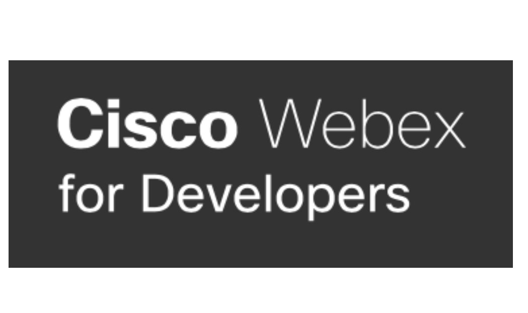 Webex for developers
