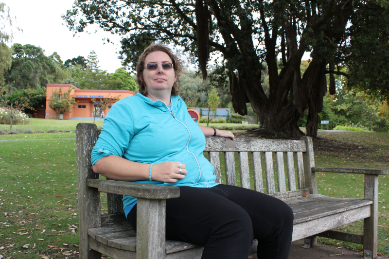 Rachel Dempsey has hidden messages around Lake Virginia in Whanganui, one of her favourite places.